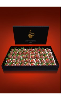 Strawberries Chocolate Box