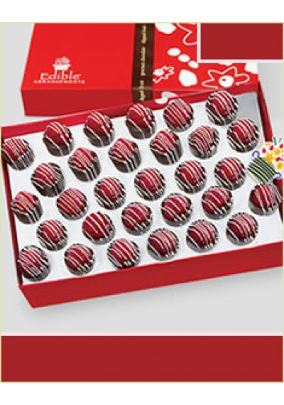 Swizzled Raspberry Chocolate Box