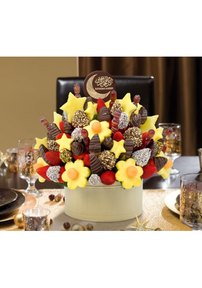 Ramadan Mubarak Occasion with Chocolate Pop