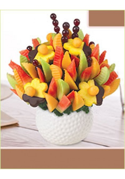 Golf Keepsake Melon Delight with Dipped Daisies