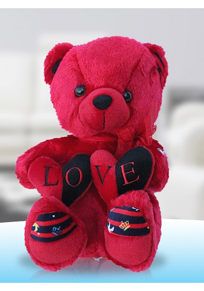 Love Red Teddy-Singing