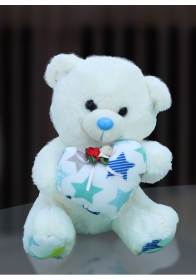 Off White Medium Teddy