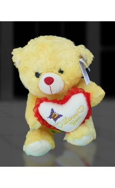 Yellow Love Teddy