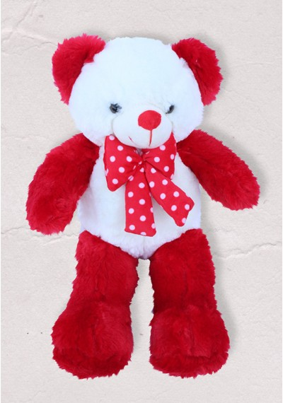 Be My love Red & White Teddy