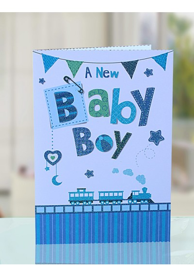 Baby boy Greeting Card II