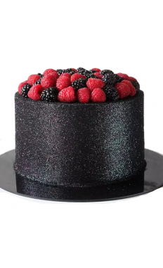 Deliciously Glow Blueberry Cake
