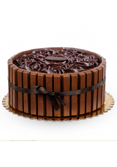 The Real Kit-Kat Cake