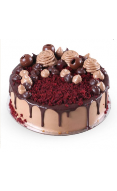 Delectable Chocolate Red Velvet Cake