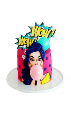 Super Wow Fashion Cake