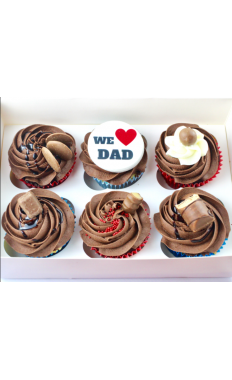 Father's day Chocolate Cupcakes