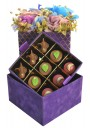 Muscat 2 Layers 18 Pieces of Assorted Sweets and Assorted French Chocolates