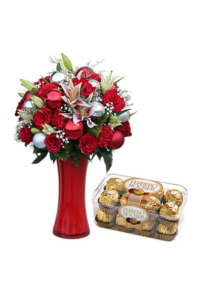 Christmas Delight bouquet collection