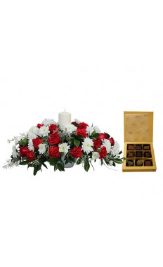 Christmas Wishes Centerpiece combo