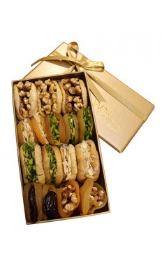 Assorted Dry Fruit Luxury Box Small by Wafi Gourmet