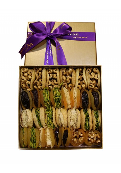 Assorted Dry Fruit Luxury Gift  Medium by Wafi Gourmet
