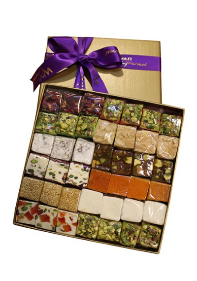 Assorted Malban & Nougha Medium Gift Box by Wafi Gourmet