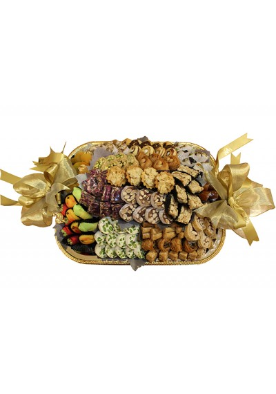 Assorted Sweets Rectangular Tray by Wafi Gourmet