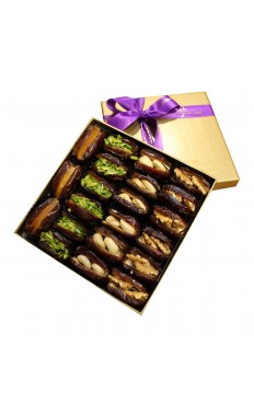 Gourmet Luxury Dates Gift Box Medium By Wafi Gourmet