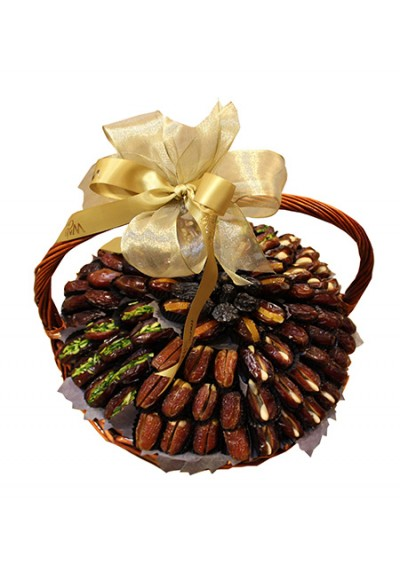 Assorted Dates Gift Basket By Wafi Gourmet