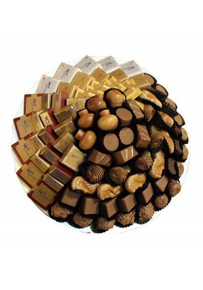 Assorted Chocolate Plate By Wafi Gourmet