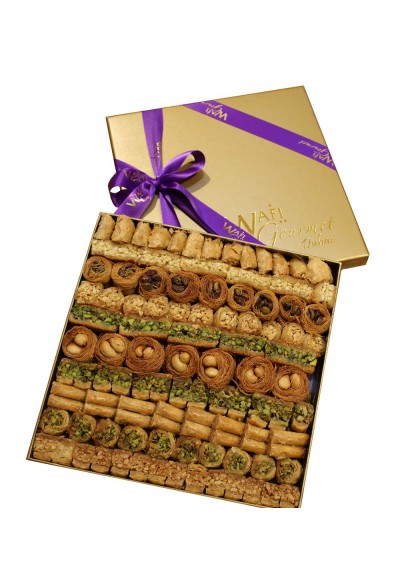 Assorted Luxury Baklawa Large Size By Wafi Gourmet