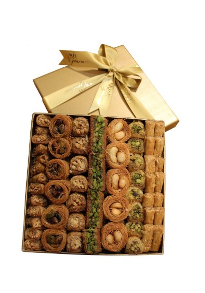 Assorted Luxury Baklawa Medium  Size By Wafi Gourmet