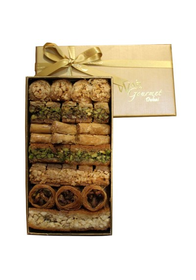 Assorted Luxury Baklawa Small Size By Wafi Gourmet