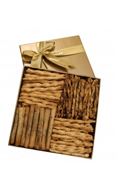 Assorted Luxury Salty Biscuit Medium Size By Wafi Gourmet