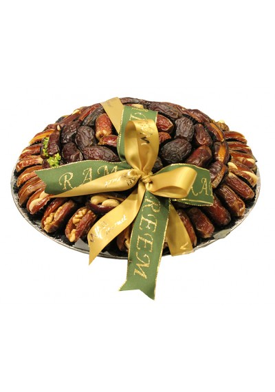 Plate Assorted Dates